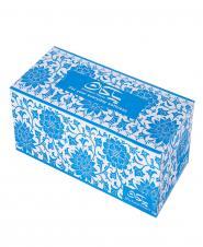دستمال کاغذی طرح آماتیس سه لایه 100 برگ پاکان