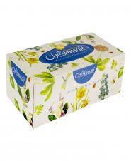 دستمال کاغذی بوتانیک دو لایه 150 برگ چشمک