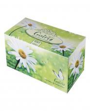 دستمال کاغذی طرح گل و پروانه  سه لایه 100 برگ گلریز