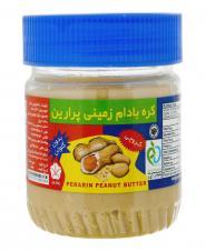 کره بادام زمینی کروچی بدون گلوتن 250 گرمی پرارین