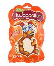 پشمک عروسکی پرتقالی 50 گرمی حاجعبداالله