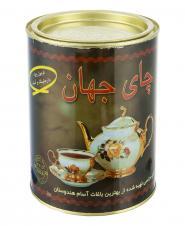 چای خالص گلچین فلزی 450 گرمی جهان