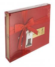 شکلات مخلوط جعبه چرم قرمز EX200 برنوتی