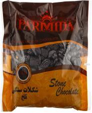 شکلات سنگی تلخ 400 گرمی پارمیدا