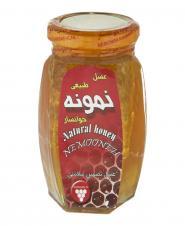عسل با موم 500 گرمی نمونهخوانسار