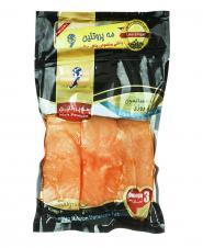 فیله ماهی سالمون نروژی بدون تیغ 500 گرمی مهپروتئین