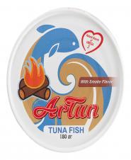 کنسرو ماهی تن دودی 180 گرمی آرتون