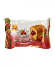 کیک توپر توت فرنگی 35 گرمی آشنا