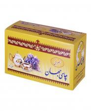 چای سیاه کیسهای زعفرانی 24 عددی جهان