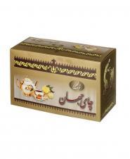 چای سیاه کیسهای زنجبیلی 24 عددی جهان