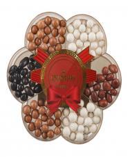 شکلات دراژه کاکائویی روکشدار 370 گرمی پارمیدا