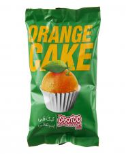 کیک قلبی پرتقالی 60 گرمی نان آوران