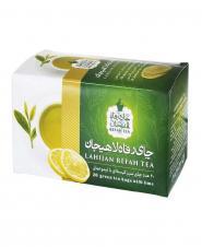 چای سبز کیسهای با لیموعمانی 20 عددی رفاه لاهیجان