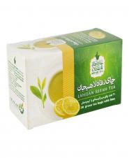 چای کیسهای سبز با طعم لیمو عمانی 20 عددی رفاهلاهیجان
