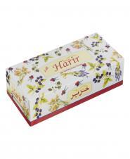 دستمال کاغذی گلدار دو لایه 100 برگ حریر