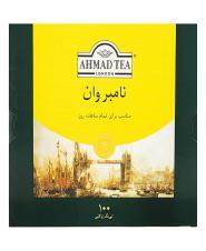 چای سیاه کیسهای نامبر وان 100 عددی احمد