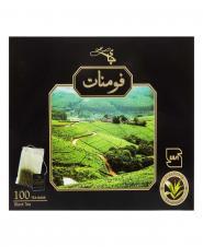 چای سیاه کیسهای 100 عددی فومنات