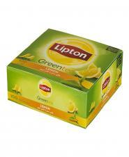 چای کیسهای سبز لیمویی ۱۰۰ عددی لیپتون