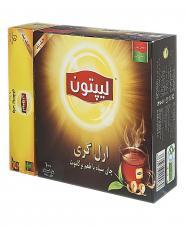 چای کیسهای ارل گری ۱۰۰ عددی لیپتون
