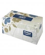 دستمال کاغذی طرح دار سه لایه 100 برگ شکوه
