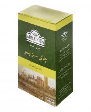 چای سبز لیمو 100 گرمی احمد