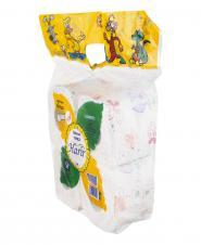 دستمال توالت گلدار 4 رول حریر