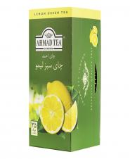 چای کیسهای سبز لیمو 25 عددی احمد