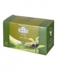 چای سبز کیسهای 25عددی احمد
