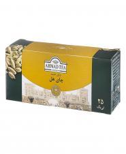 چای کیسهای هل 25 عددی احمد