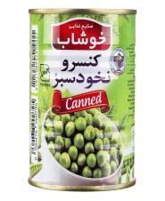 کنسرو نخود سبز 350 گرمی خوشاب