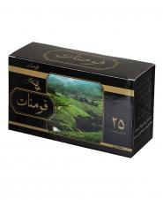 چای سیاه کیسهای 25 عددی فومنات