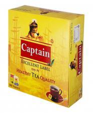 چای سیاه کیسهای خارجی 100 عددی کاپیتان