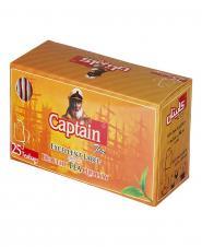 چای سیاه کیسهای 25 عددی کاپیتان