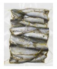 ماهی کیلکا مرینت با سس گارلیک باتر 350 گرمی کیان ماهی خزر