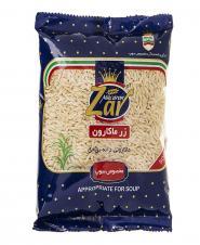 ماکارونی دانه برنجی 500 گرمی زرماکارون