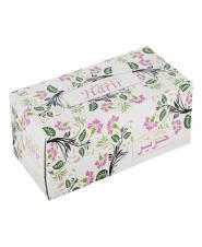 دستمال کاغذی گل عباسی دو لایه 150 برگ حریر