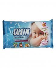 دستمال مرطوب نرم کننده و پاک کننده کودک 24 عددی لوسین