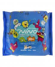 دستمال مرطوب پاک کننده کودک 20 عددی نینو