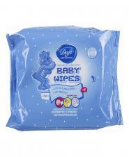 دستمال مرطوب پاک کننده کودک 20 عددی دافی