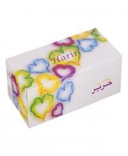 دستمال کاغذی ولنتاین دو لایه 150 برگ حریر