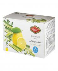 دمنوش مخلوط گیاهی لاغری با طعم لیمو و کرفس 20 عددی گلستان