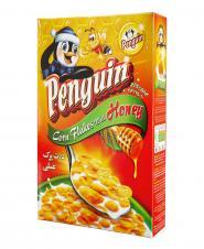 ذرت پرک عسلی  275 گرمی پنگوئن