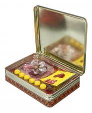 زعفران سرگل قوطی فلزی 6 گرمی نوینزعفران