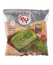 کوکو سبزی منجمد آماده 470 گرمی ب.آ