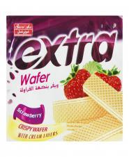 ویفر پذیرایی توت فرنگی 40 گرمی شیرینعسل