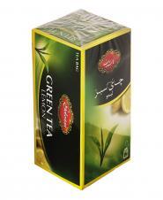 چای کیسهای سبز با لیمو 20 عددی گلستان