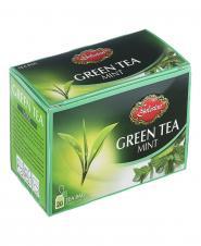 چای کیسهای سبز با نعنا 20 عددی گلستان