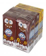 شیرکاکائو و شیرموز فرادما 6 عددی دنت