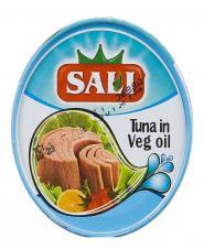 کنسرو ماهی تن در روغن 150 گرمی سالی