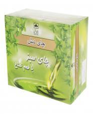 چای کیسهای سبز با طعم نعنا 50 عددی دبش